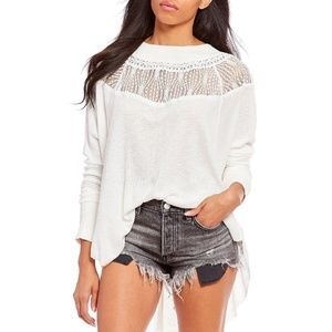 Free People Spring Valley Top, Ivory